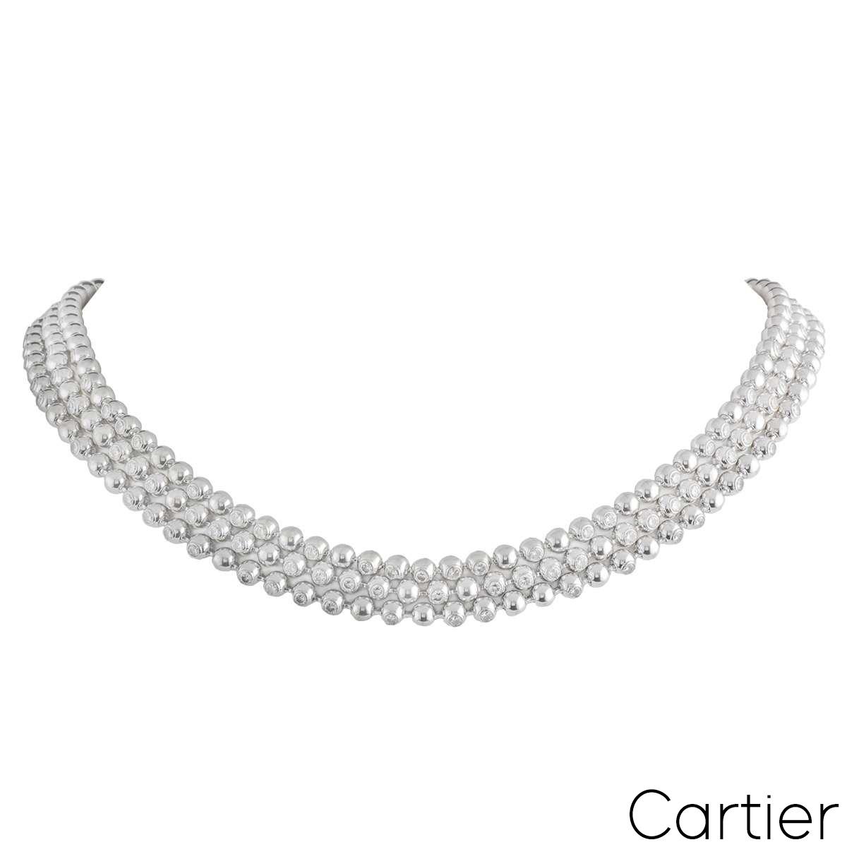 Cartier Moonlight Diamond Necklace